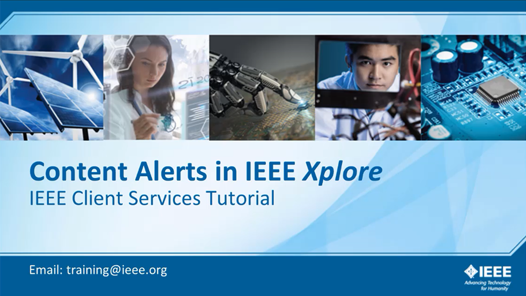 IEEE Xplore 出版物订阅(英文版检索)