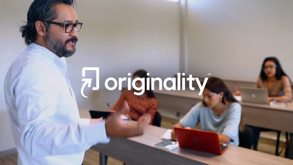 The new standard in academic integrity (Turnitin Originality)